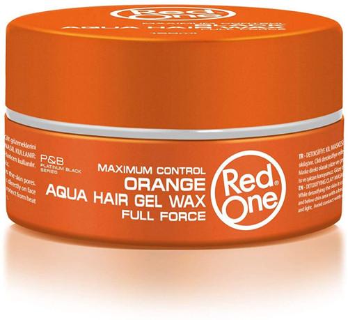 Red One Hair Wax 150 ml-Orange