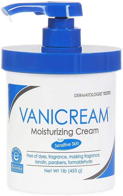 Vanicream Moisturizing Cream White Fragrance Free-16 Ounce
