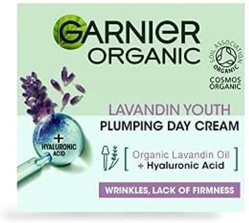 Garnier Organic Lavandin Youth Plumping Day Cream-50ml