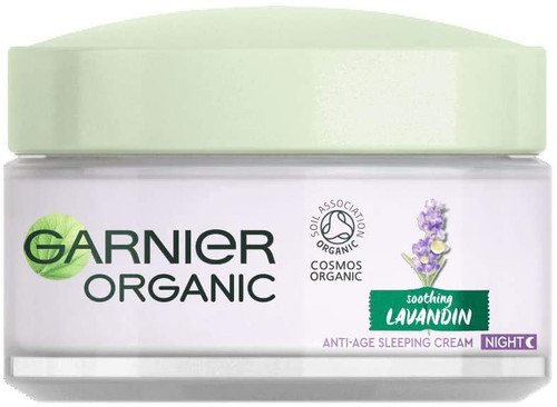 Garnier Organic Lavandin Anti Age Sleeping Cream-50 ml