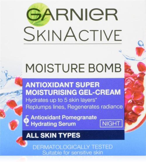 Garnier Moisture Bomb Hydrating Night Cream Moisturiser-50 ml