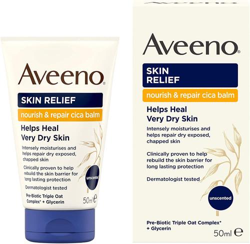 Aveeno Dry Skin Relief Nourish and Repair Cica Balm - 50ml