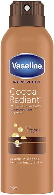 Vaseline Non Sticky Intensive Care Cocoa Spray Moisturiser - 190ml