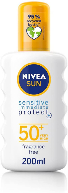 NIVEA SUN Protect and Sensitive Sun Spray-200 ml