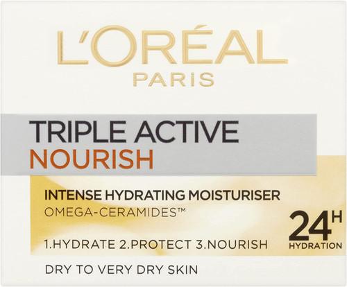 LOreal Paris Triple Active Day 24H Nourish Moisturiser-50 ml