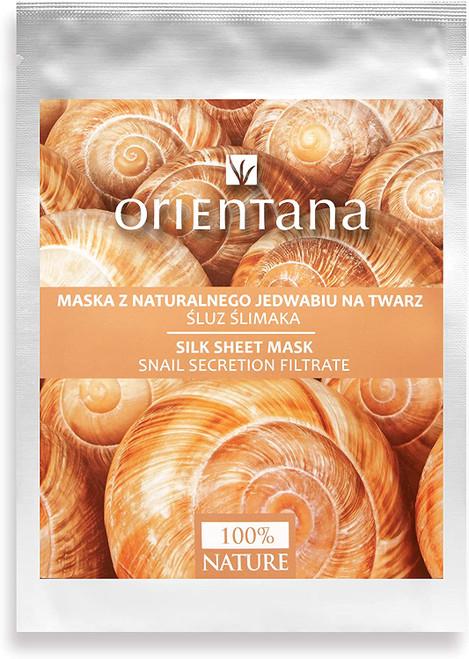 Orientana Natural Silk Sheet FACE MASK-1Pcs