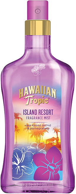 Hawaiian Topic Island Resort Fragrance Mist Rain Kissed Orchid and Pomegranate