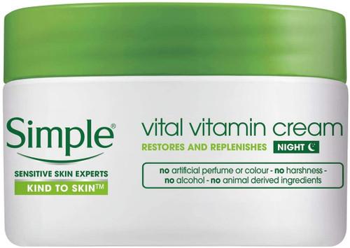 Simple Vital Vitamin Night Cream-50ml