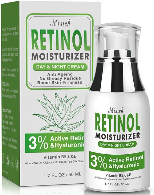 Retinol Moisturizer Cream for Face Facial Wrinkle Cream