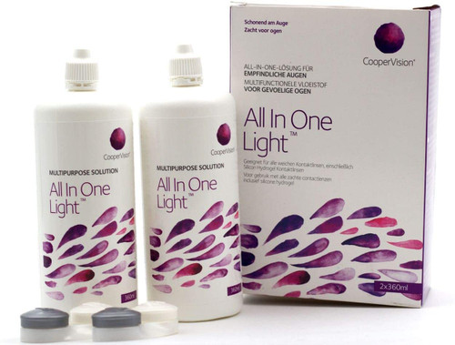 Coopervi Sion All-in-One Light Contact Lens Solution- Pack of 2