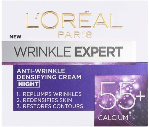 LOreal Paris Wrinkle Expert 55 Plus Calcium Anti Wrinkle Night Cream-50 ml