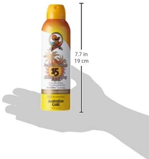 Australian Gold Premium Coverage SPF 15 CONT SPRAY-177 ml