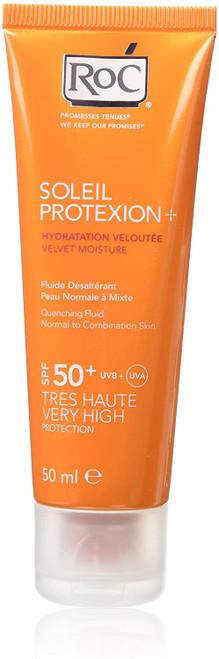 RoC Soleil Protexion Plus Velvet Moisture Quenching Fluid-50 ml
