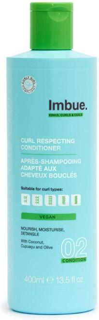 Imbue Lightweight Nourishment Curl Respecting Conditioner - 400ml