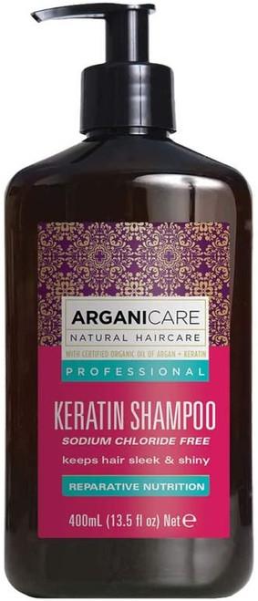 ArganiCARE Keratin Hair Shampoo-400 ml