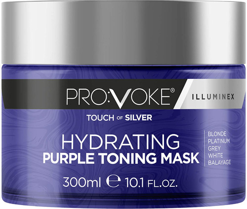 PROVOKE Touch of Silver Hydrating Purple Toning Hair Mask-300 ml