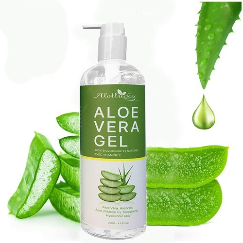 Alotlucky Aloe Vera Moisturizing Hydrating Skin Soothing Gel