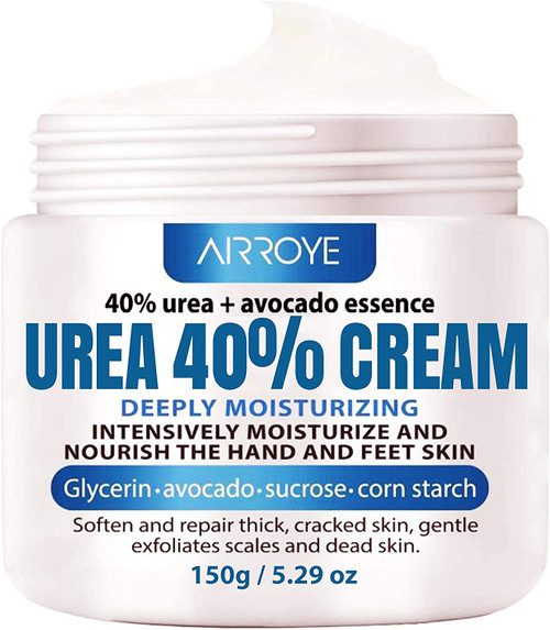 Urea 40 Percent Foot Cream for Cracked Heels
