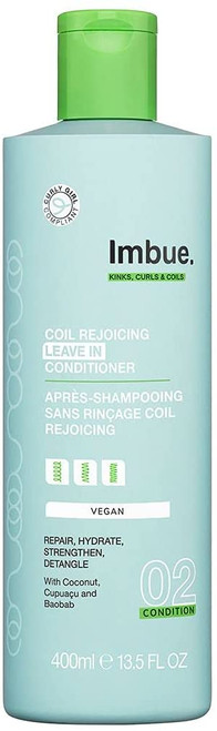 Imbue Coil Rejoicing Hydrating Leave In Conditioner - 400ml