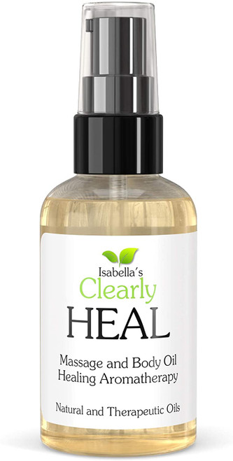 Clearly HEAL Ultra Moisturizing Massage and Body Oil - 120ml