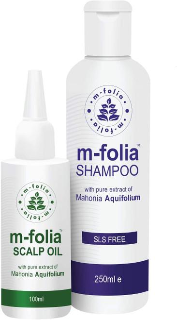 M FOLIA Psoriasis Hair Care Treatment Set