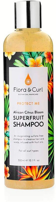Flora and Curl African Citrus Superfruit Shampoo-300ml