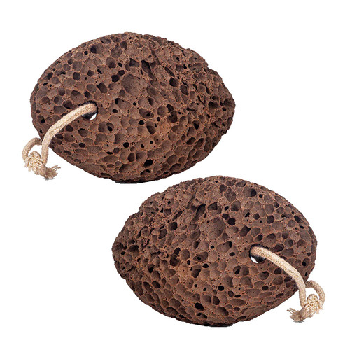 Revitale Natural Volcanic Lava Pumice Foot Care Stone - 2 Pack