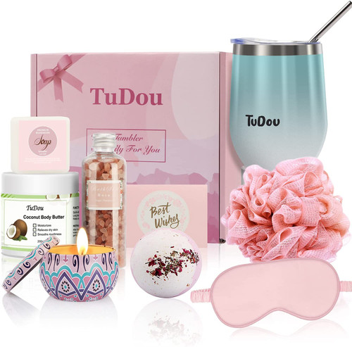 Birthday Gifts for Women Pamper Hamper Bath Set for Her