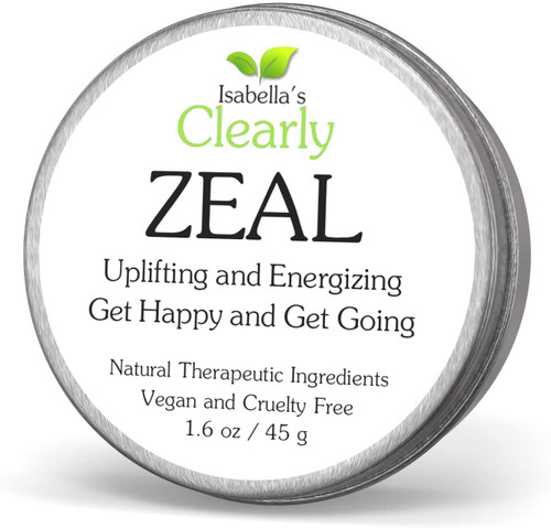 Isabella Clearly ZEAL Sweet Aroma Uplifting and Energizing Balm - 45g