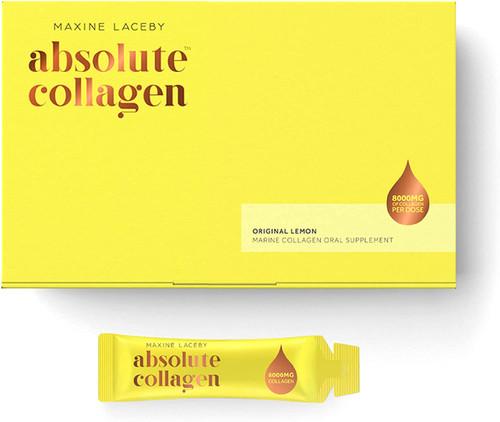 Absolute Marine Liquid Collagen Infused with Vitamin C Lemon Sachet