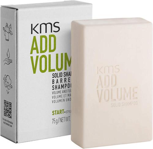 KMS ADDVOLUME Solid Shampoo Bar for Fine Hair-75 gr