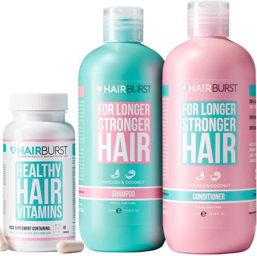 Hairburst Shampoo Conditioner and Original Vitamin Bundle