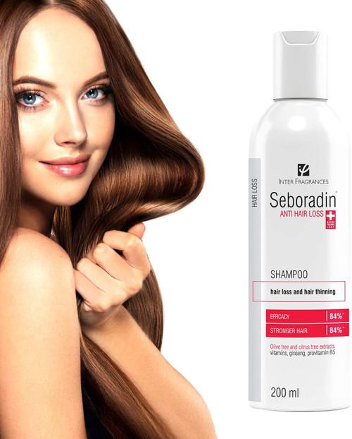 Seboradin Hair Loss And Hair Thinning Shampoo Treatment