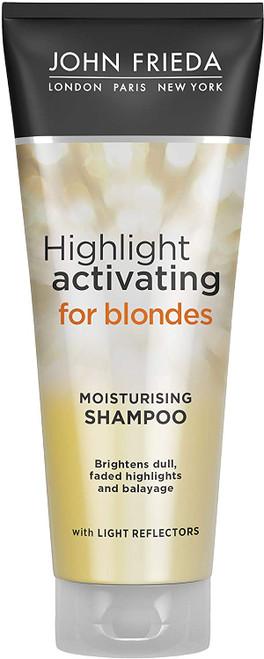 John Frieda Sheer Blonde Highlight Activating Moisturising Shampoo-250ml