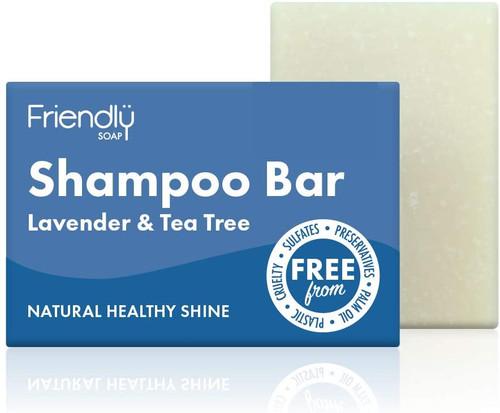 Friendly Soap Shampoo Bar Lavender and Tea Tree-95 g