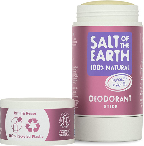 Salt of the Earth Fresh Natural Lavender and Vanilla Deodorant Stick - 84g