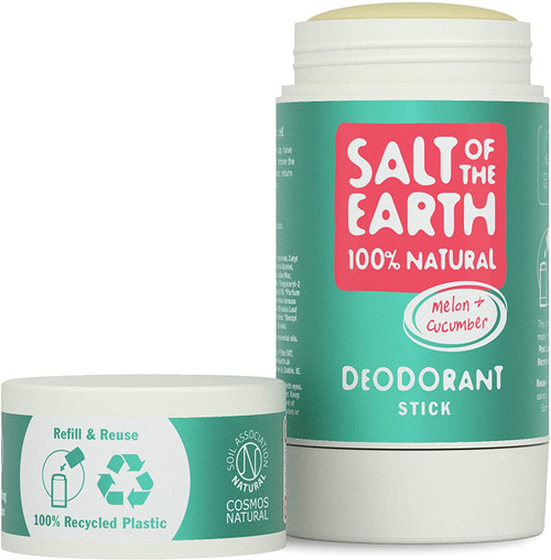 Salt of the Earth Fresh Natural Melon and Cucumber Deodorant Stick - 84g