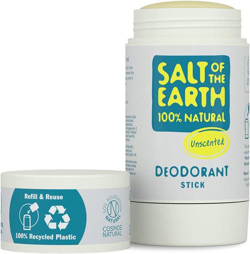 Salt of the Earth Fresh Natural Fragrance Free Deodorant Stick - 84g