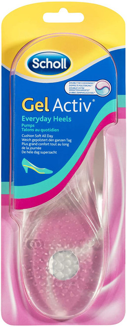 Scholl Gel Activ Everyday Heels and Pumps Insoles - One Size