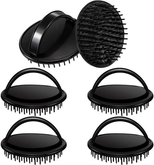 Hair Scalp Massager Brush Dandruff Cleaning Brush-6 Pieces