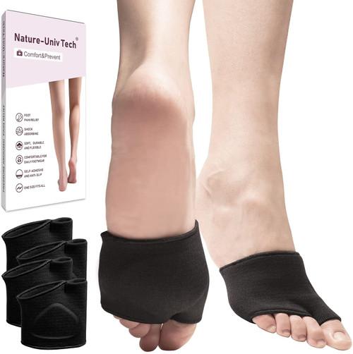 Nature-Univ Pain Relief Metatarsal Pad Ball of Foot Cushions -2 Pairs