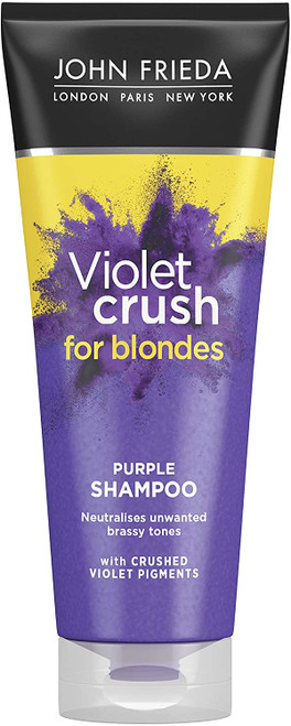 John Frieda Sheer Blonde Violet Crush Tone Correcting Purple Shampoo