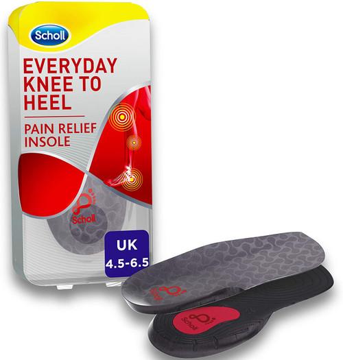Scholl Lower body Pain Relief Orthotic Knee To Heel Gel Insoles