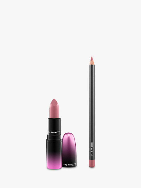 MAC Lipstick & Lip Pencil Pure Nonchalance Bundle