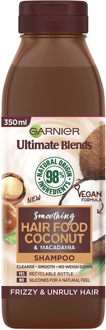 Garnier Ultimate Blends Coconut Shampoo For Curly Hair- 350ml