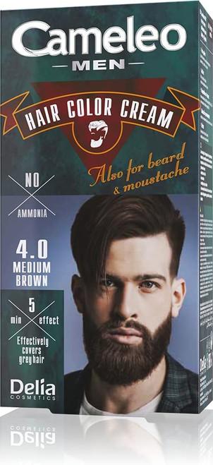 Cameleo Men Permanent Hair Dye-Medium Brown