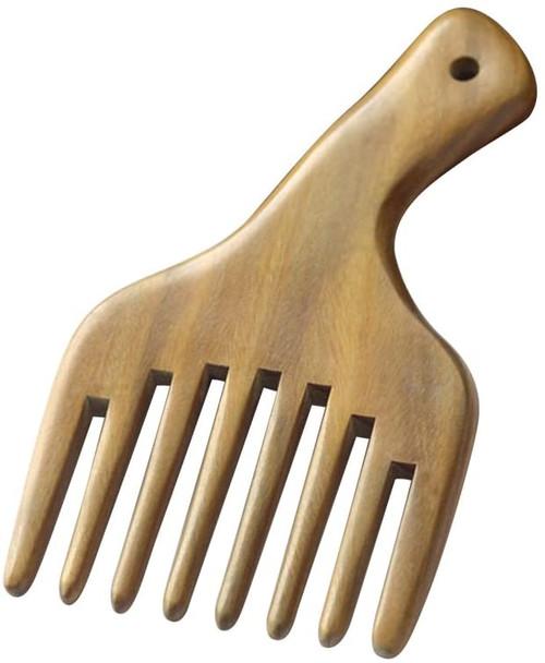 Hair Pick FRCOLOR Wooden Sandalwood Comb
