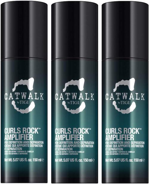 TIGI S Factor Catwalk Curls Rock Amplifier -  Pack Of 3