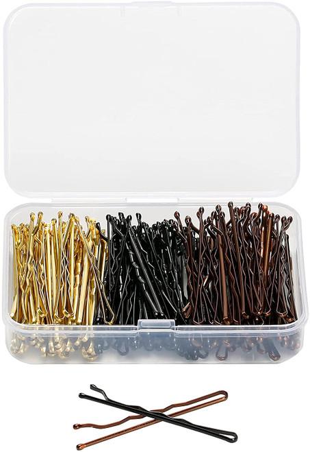 ENNIYU Mixed color Bobby Pins with Storage Box - 150Pcs