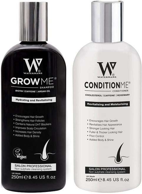Watermans Hair Growth Hydrating shampoo and conditioner set